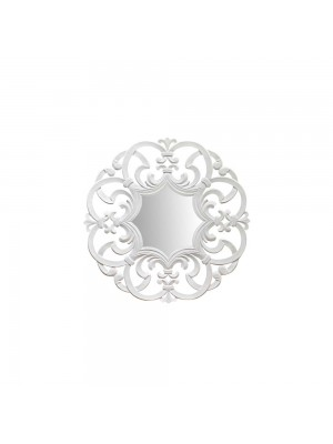 Espelho Arabesco Médio Branco