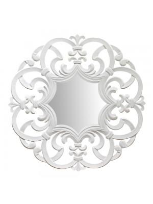 Espelho Arabesco Grande Branco