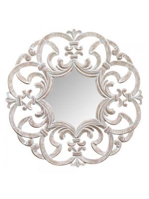 Espelho Arabesco Grande Patinado