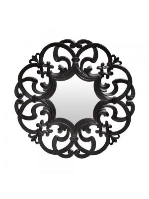Espelho Arabesco Grande Preto