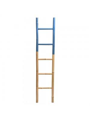 Escada de bambu Grande Azul Lápis