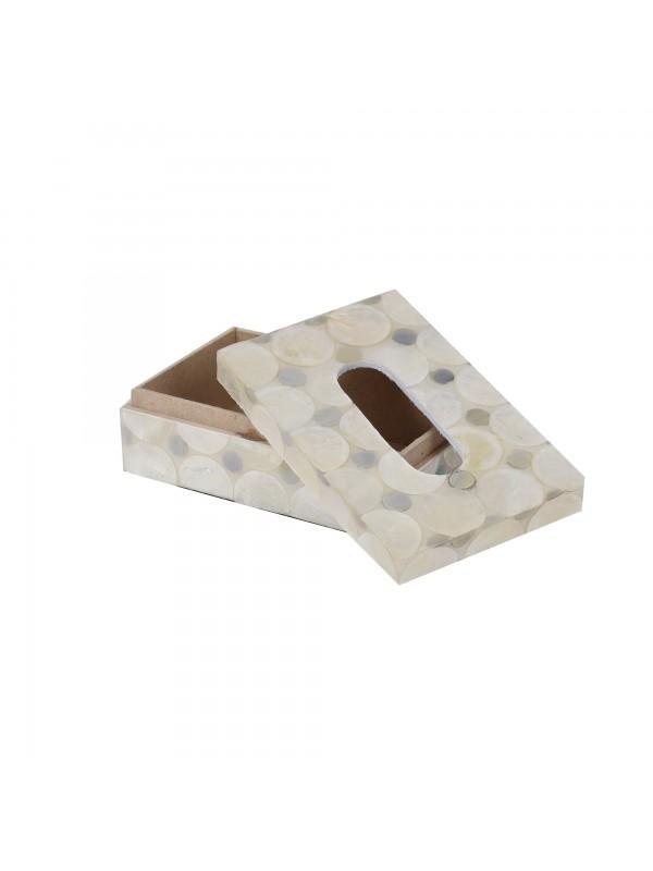 Caixa de Lenço Caribe Moeda Pequena