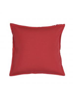 Capa de Almofada Viscose Vermelha